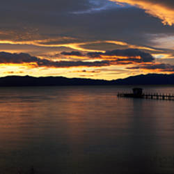 Sunrise Lake Tahoe CA
