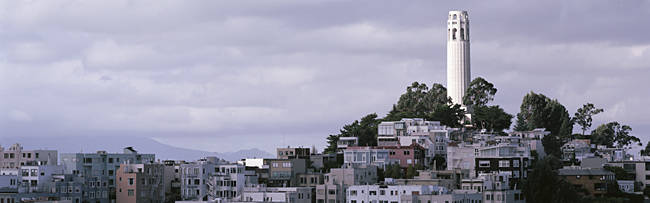 Coit Tower On Telegraph Hill, San Francisco, California, USA