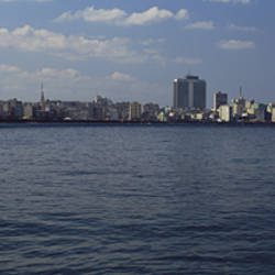 Buildings on the waterfront, Havana, Cuba