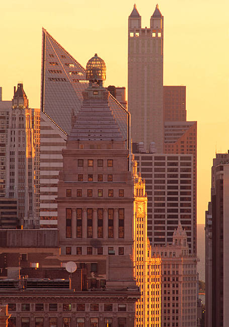 North Michigan Ave Buildings Chicago IL