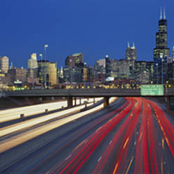 Kennedy Expressway Chicago IL USA
