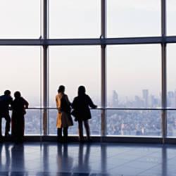 Observation Deck In The Roppongi Hills Tower, Tokyo, Japan