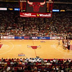 NBA Finals Bulls vs Suns, Chicago Stadium, Chicago, Illinois, USA