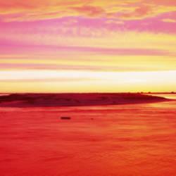 Sunrise Chatham Harbor Cape Cod MA USA