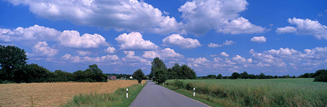 Road Schleswig Holstein Germany