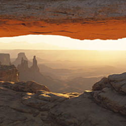 Mesa Arch, Canyonlands National Park, Utah USA