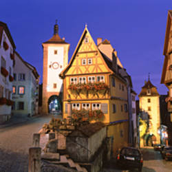Germany, Rothenburg ob der Tauber
