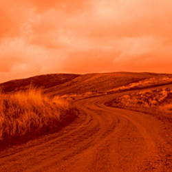 Road Diablo Range Fresno County CA