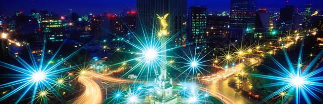 Monumento a la Independencia Paseo de la Reforma Mexico City Mexico