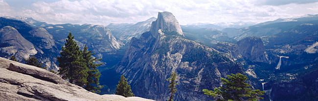 Half Dome High Sierras Yosemite National Park CA