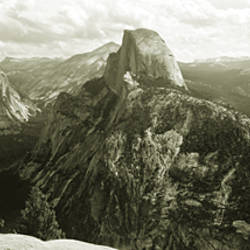 USA, California, Yosemite National Park, Half Dome