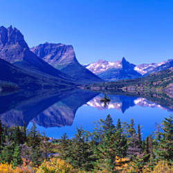 St Mary Lake Glacier National Park MT