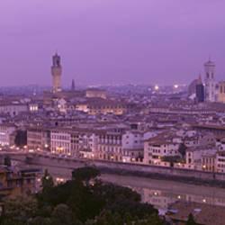 Twilight, Florence, Italy