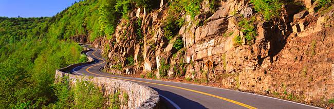 Curved Road NY