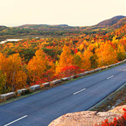 Park Loop Road Acadia National Park ME USA