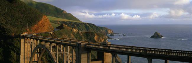 Bixby Bridge Big Sur California USA