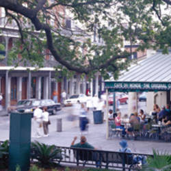 Cafe du Monde French Quarter New Orleans LA USA