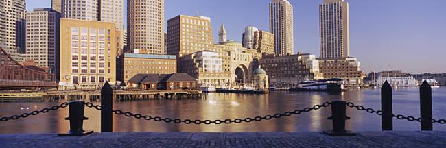 Buildings on the waterfront, Boston, Massachusetts, USA
