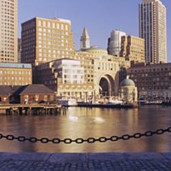 Buildings on the waterfront, Boston, Massachusetts, USA