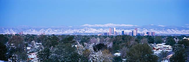 Buildings in a city, Denver, Colorado, USA