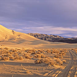 USA, California, Death Valley National Park, Eureka sand dunes