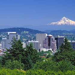 Mt Hood Portland Oregon USA
