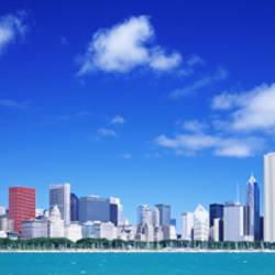 Skyline, Chicago, Illinois, USA