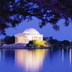 Jefferson Memorial, Washington DC, District Of Columbia, USA