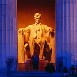 Lincoln Memorial, Washington DC, District Of Columbia, USA
