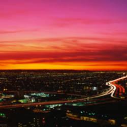 Aerial Los Angeles CA
