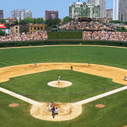 USA, Illinois, Chicago, Cubs, baseball
