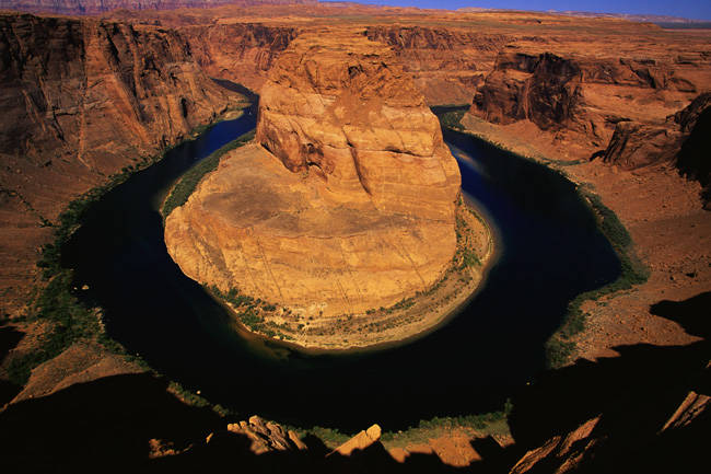 Bend on Colorado River AZ
