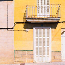 Facade of a building, Majorca, Spain