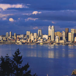 USA, Washington, Seattle, Puget Sound