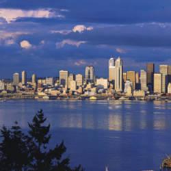 USA, Washington, Seattle, Puget Sound