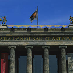 Facade of a museum, Altes Museum, Berlin, Germany