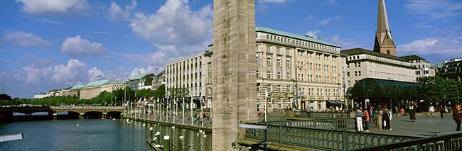 Inner Alster, Hamburg, Germany