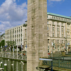 Inner Alster, Hamburg, Germany
