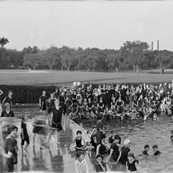 Bathers Tidal Basin Washington DC 1915