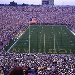 University Of Michigan Football Game, Michigan Stadium, Ann Arbor, Michigan, USA
