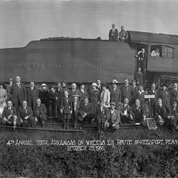 4th Annual Tour Arkansas on Wheels En Route McKeesport Pennsylvania October 25 1916