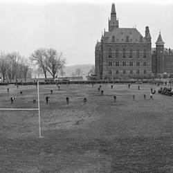 George Washington University vs. Georgetown University Football at Georgetown University 1916