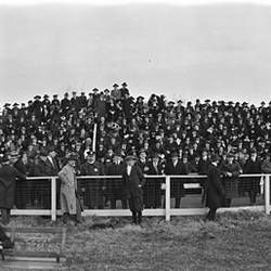 George Washington University ( fans ) vs. Georgetown University Football at Georgetown University 1916
