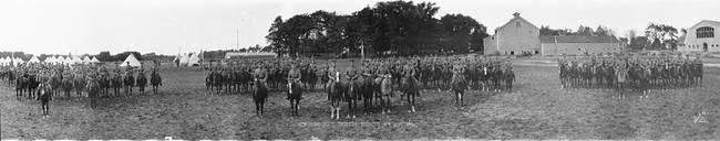 Troop G New York State Troopers Syracuse New York September 1917