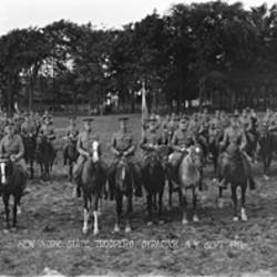 Troop G New York State Troopers Syracuse New York September 1917