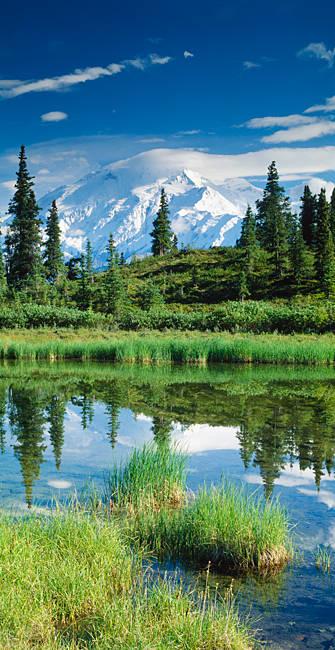 USA, Alaska, Mount McKinley