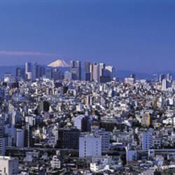 Mt Fuji & Shinjuku area Tokyo Japan