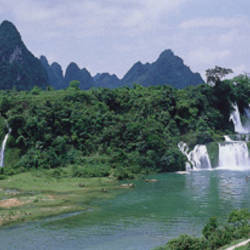 Detian Waterfall, Guangxi Province, China