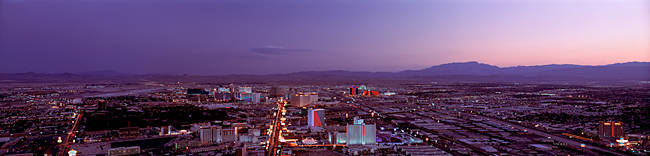 USA, Nevada, Las Vegas, sunset