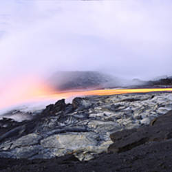 Kilauea Volcano, Volcanoes National Park, Hawaii, USA